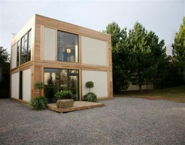 maison cubique container